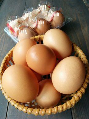 蓮ヶ峯農場の卵