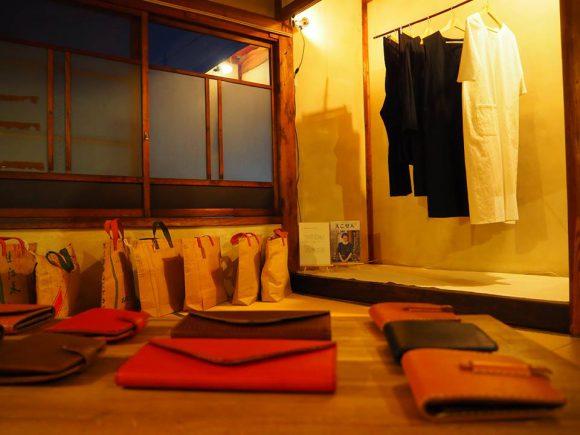 展示販売「服と袋展」始まります