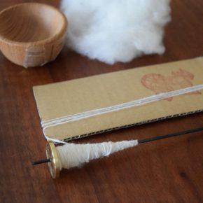 暮らしの楽しみ、手仕事のお稽古<糸紡ぎ・手織り>