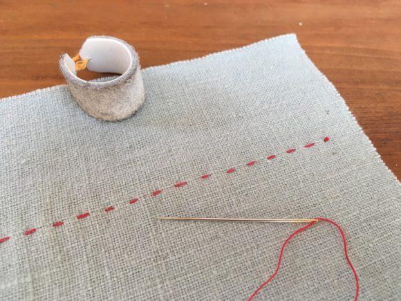 運針ことはじめ -針と布に親しむ-
