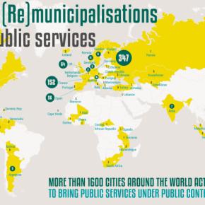 世界的に広がる公共サービスの再公営化