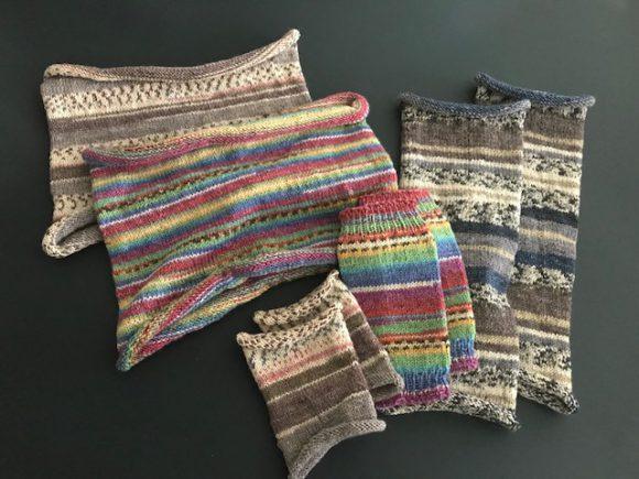 【満席】はじめての編み物レッスン -OPAL毛糸一玉で3つの小物-
