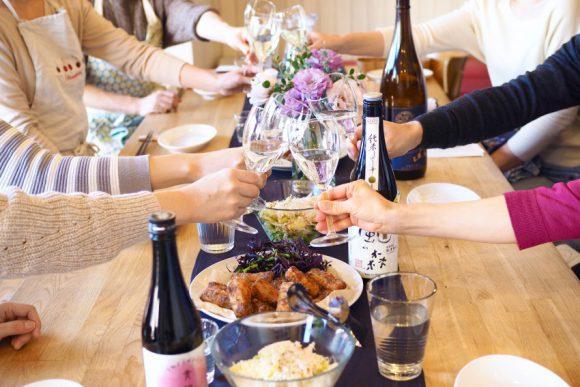 日本酒と発酵食のマリアージュ料理教室